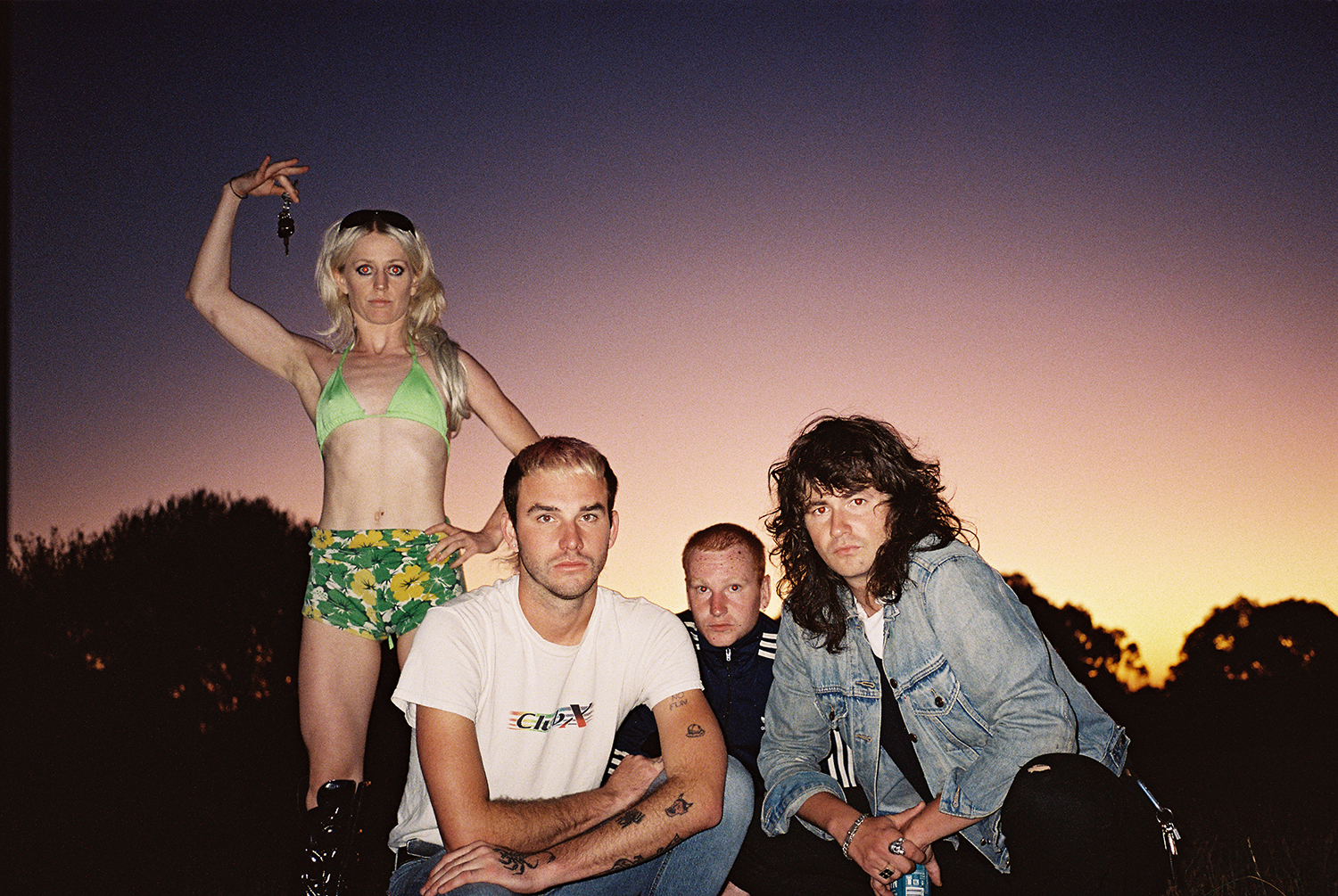 Amyl & The Sniffers Claim This Week's Highest ARIA Chart Debut With 'Comfort To Me'