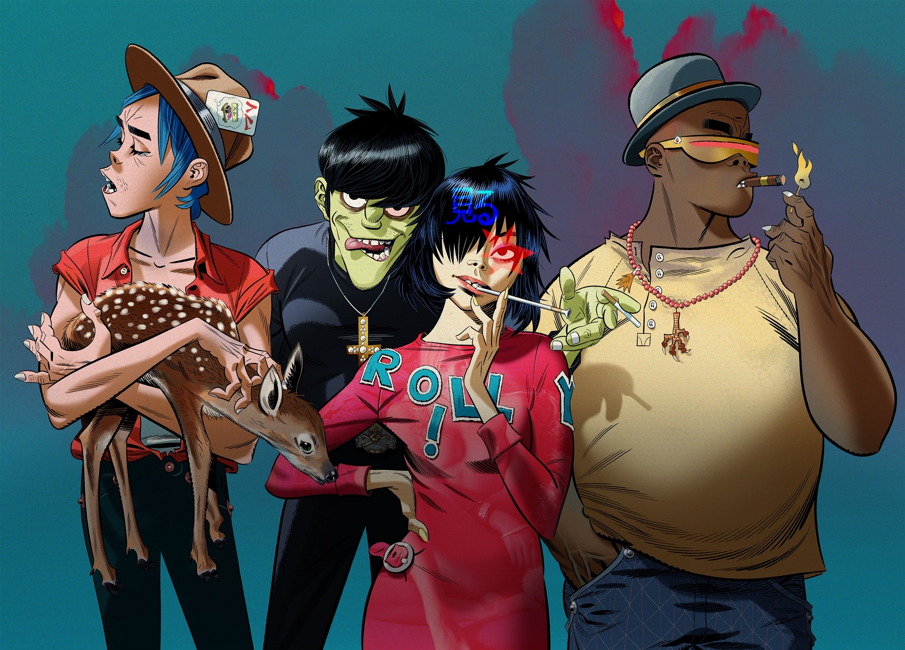Gorillaz Are Celebrating Their New Album With A Huge Online Live Event
