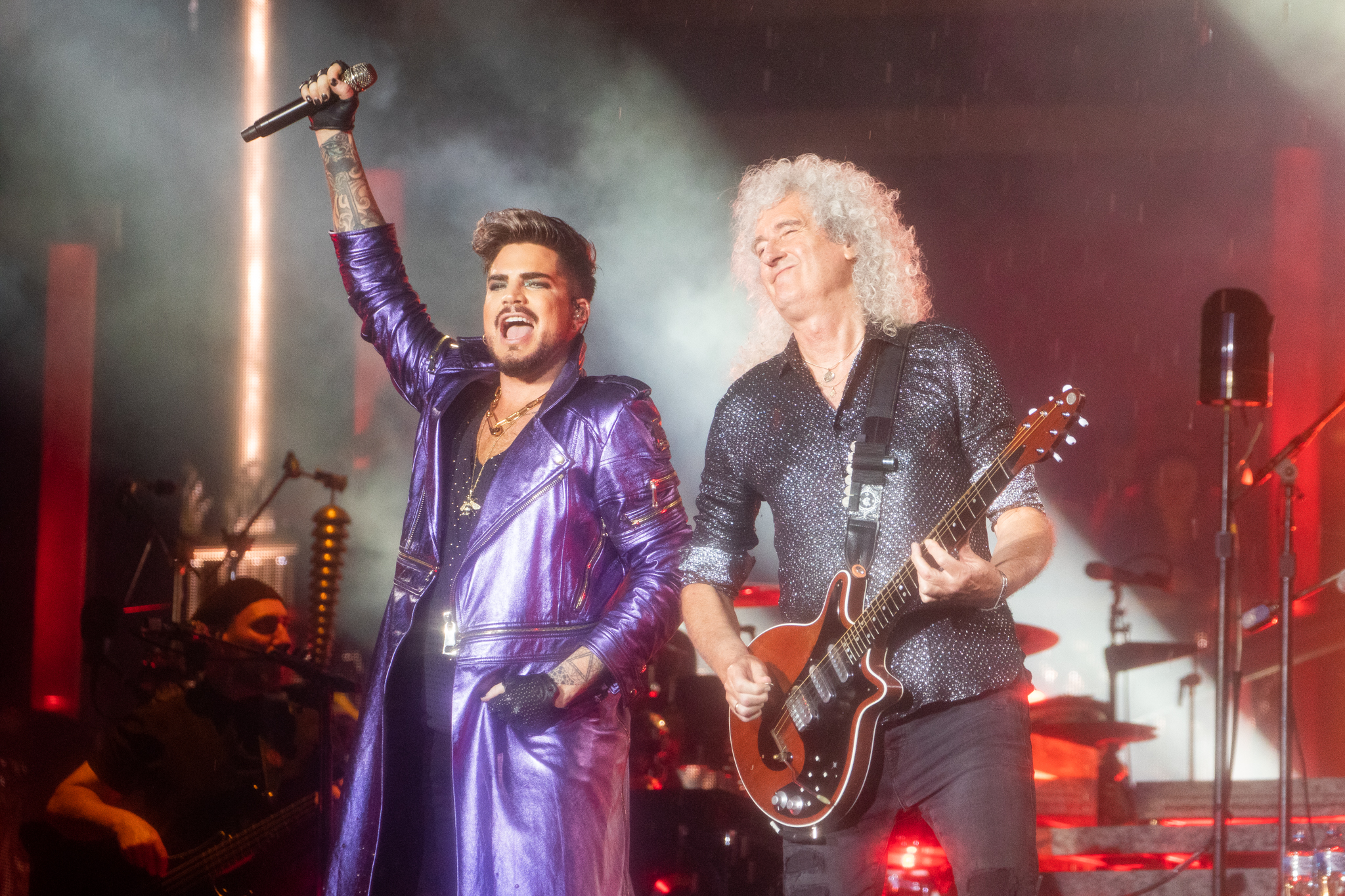 Even In Torrential Rain, Queen Deliver 'Superb' Showing At First Stop On Aussie Tour