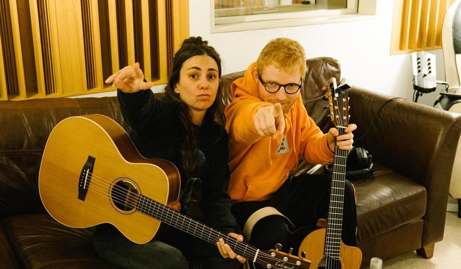 Amy Shark Reveals She's Been Writing New Music With Ed Sheeran