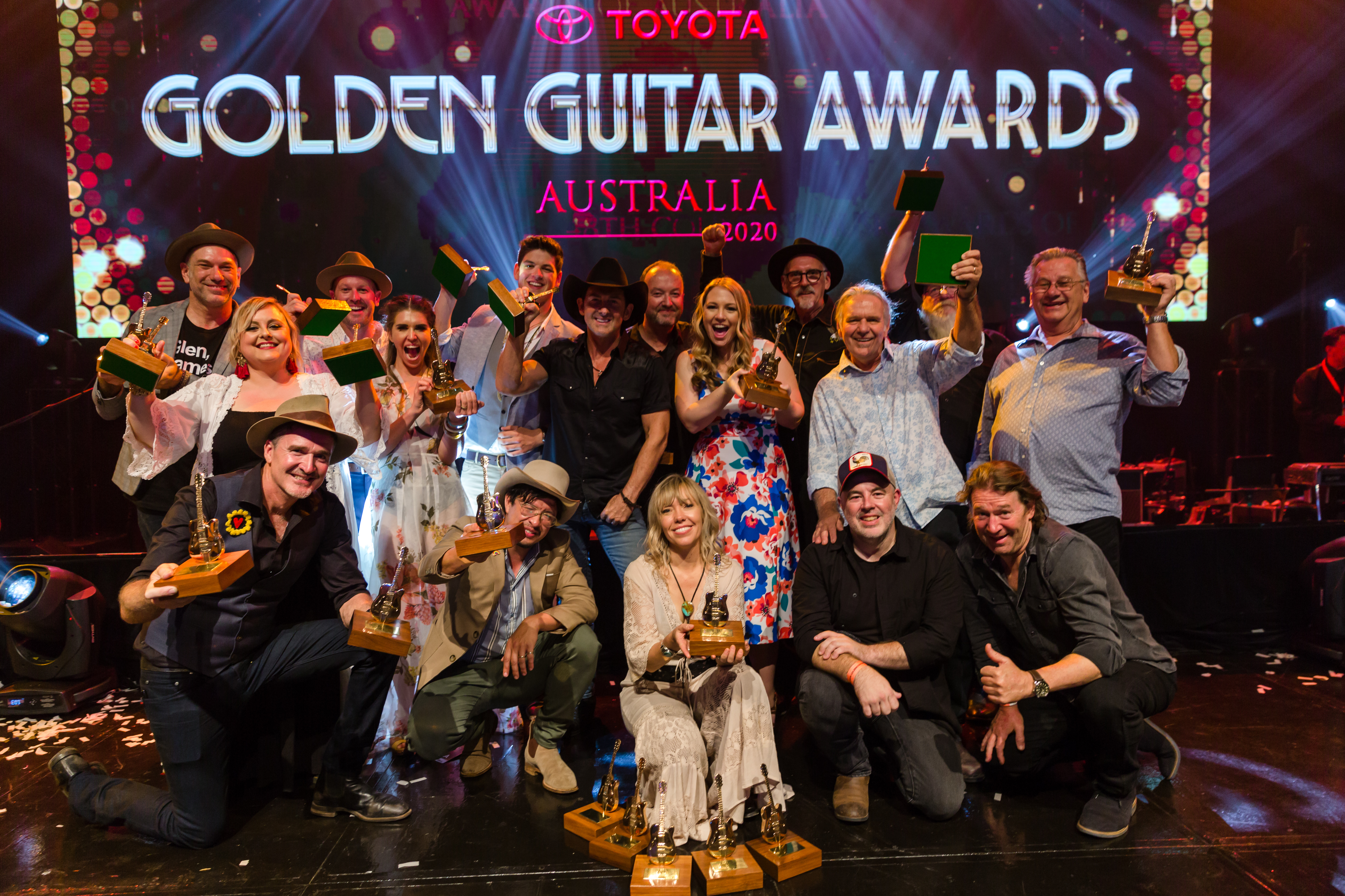 Felicity Urquhart, Blake O'Connor & More Score Golden Guitar Awards