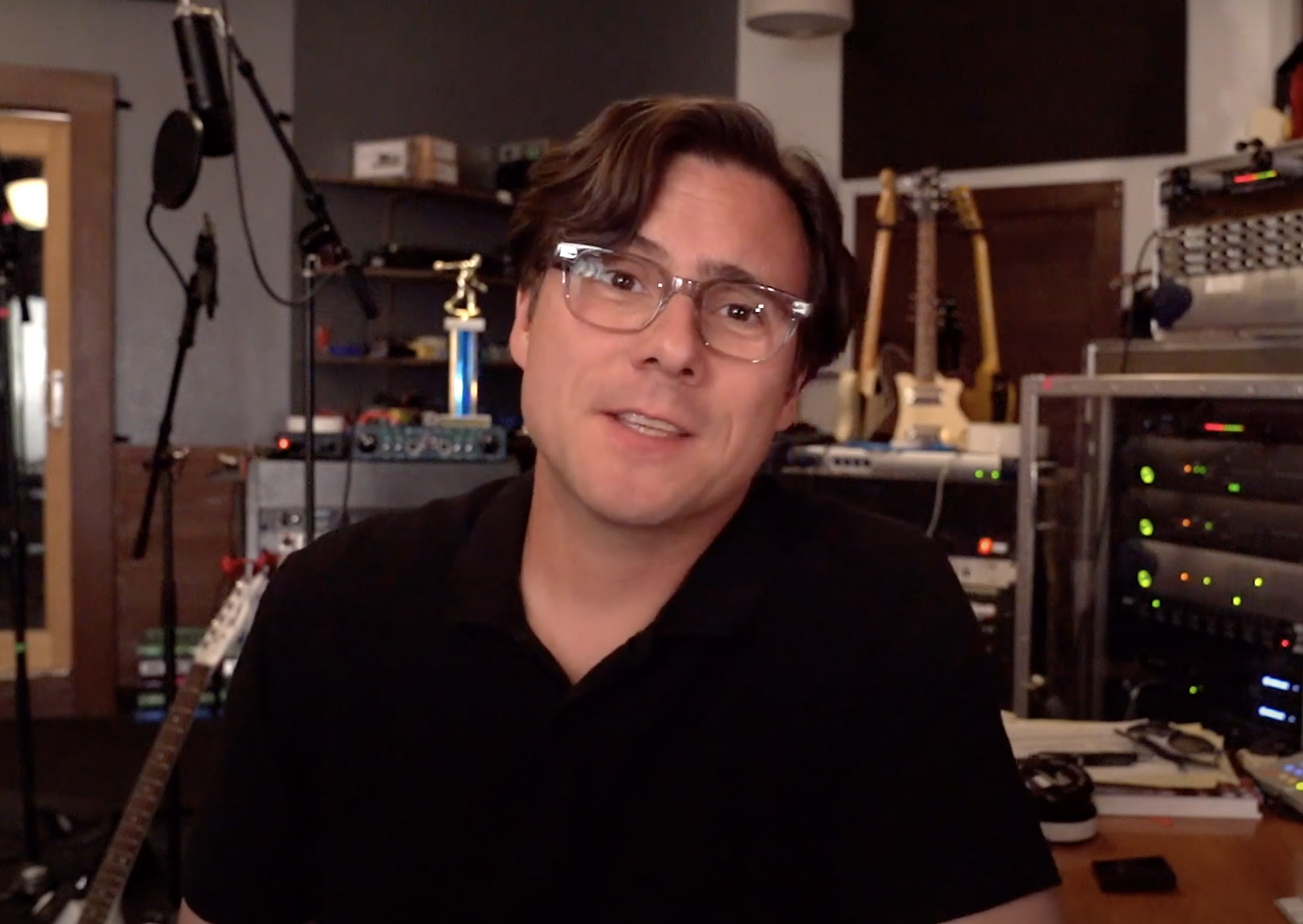Jimmy Eat World Frontman Launches New Podcast Feat. Mark Hoppus, Steve Aoki & More
