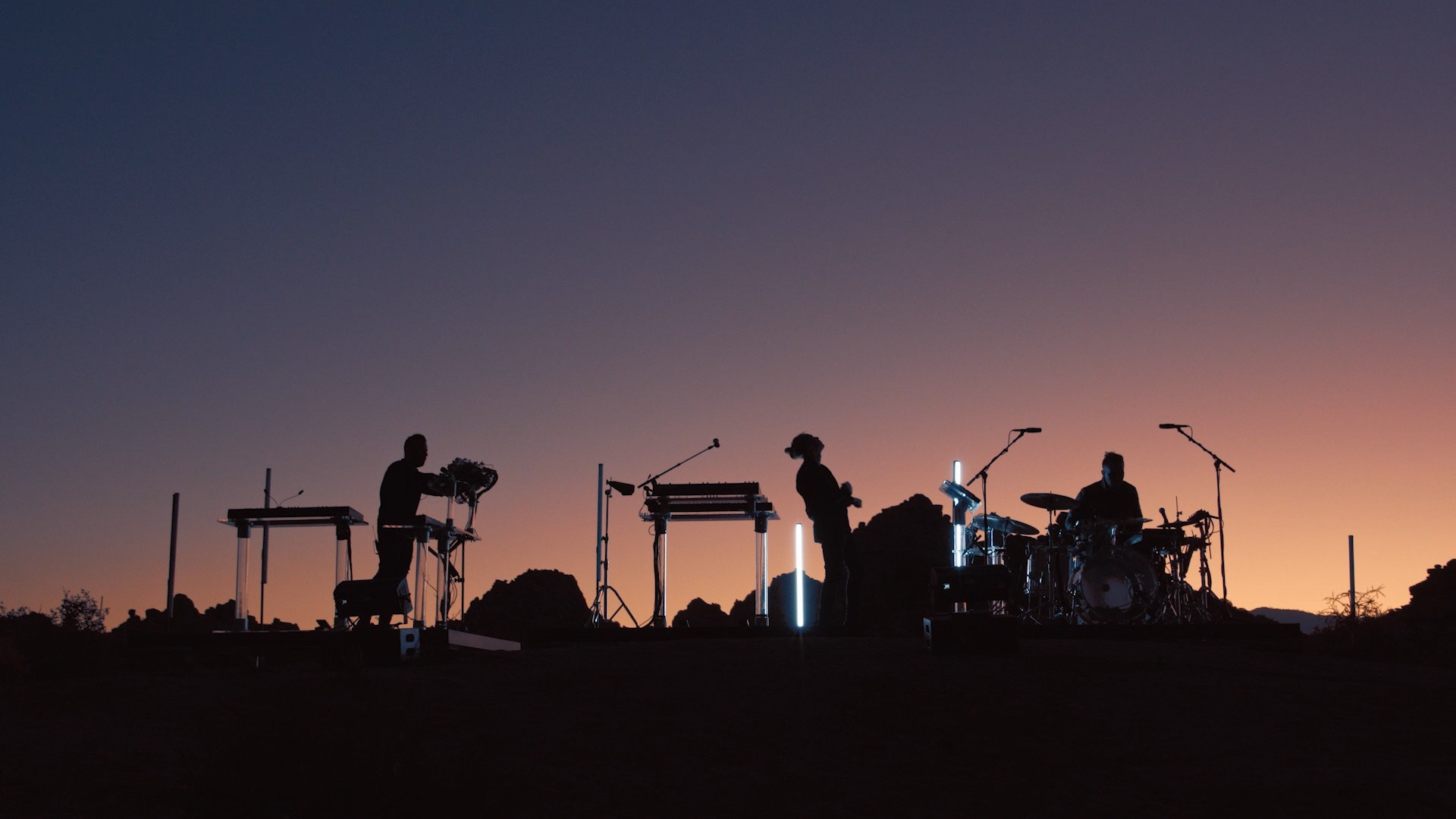 RÜFÜS DU SOL Recorded A Live Album & Film At Joshua Tree And It's Coming Next Month