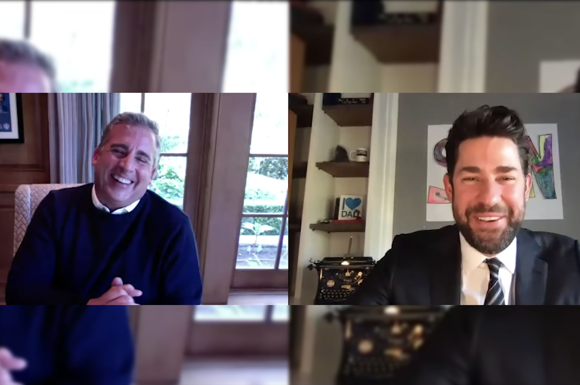 Got Monday Blues? Here's Steve Carell & John Krasinski Reliving 'The Office' Days