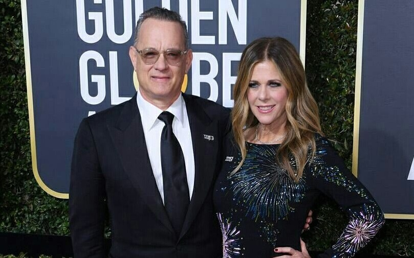 Image result for Tom Hanks and Rita Wilson coronavirus