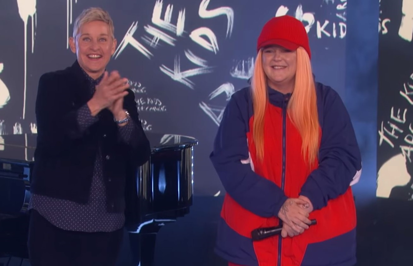 'You're Awesome': Tones & I Receives Standing Ovation On 'Ellen'