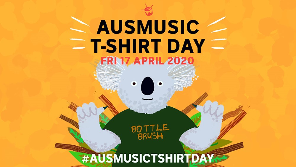 Triple J Announces Special Edition Of Ausmusic T-Shirt Day To Support Local Acts