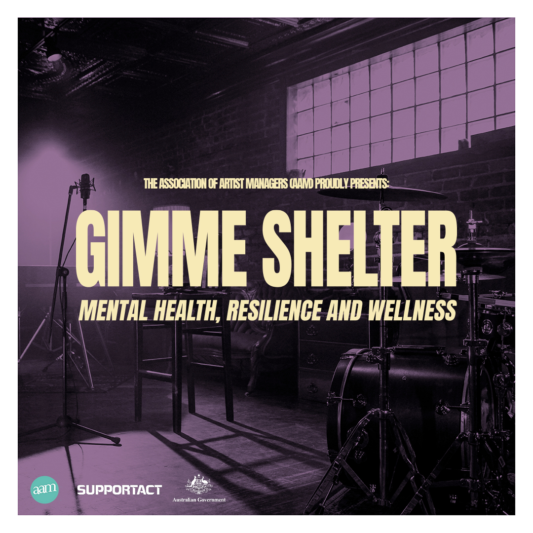 Support Act Announces Extension Of Mental Health Program 'Gimme Shelter'