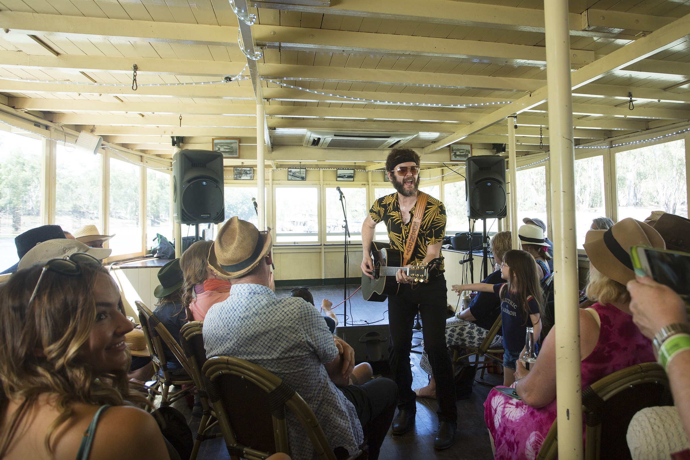 Aussie Music Favourites Confirmed For New River Cruise Live Music Series