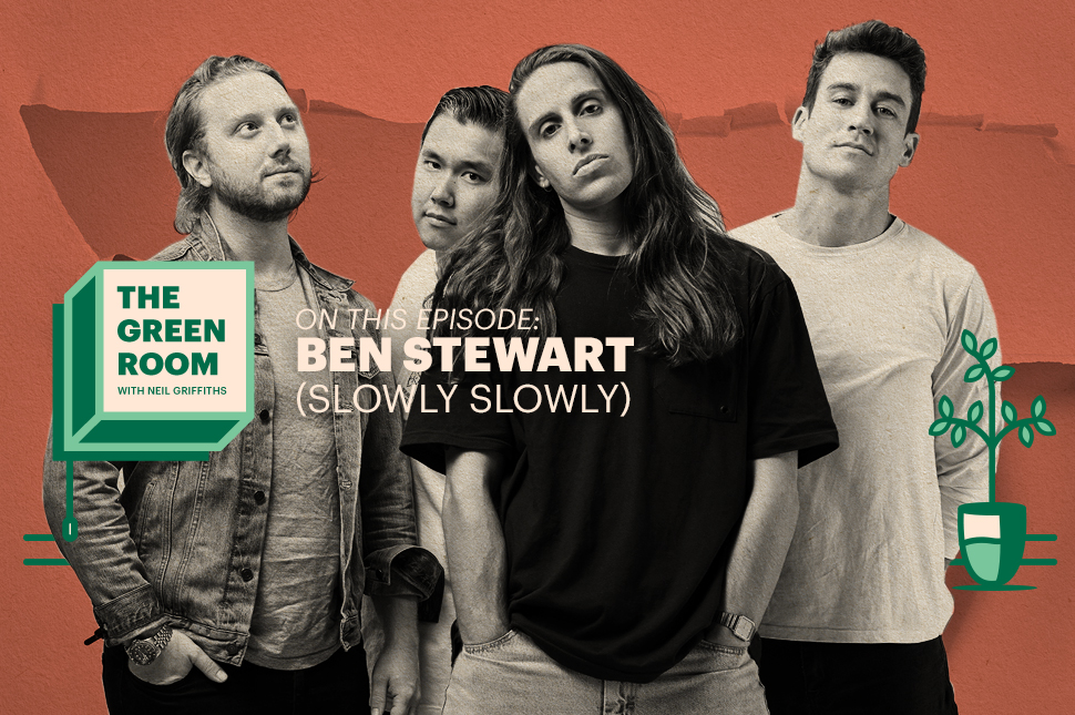 Slowly Slowly's Ben Stewart Joins 'The Green Room' Ahead Of The Band's New Album